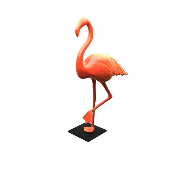ZOOZOO SHOP FLAMINGO GLOSSY 03 RAL 2012 0000
